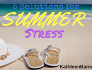solutions for summer stress