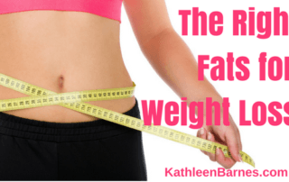 Right Fats for Weight Loss