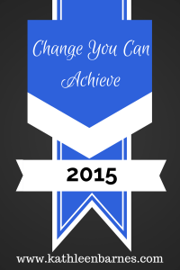 Change You Can Achieve