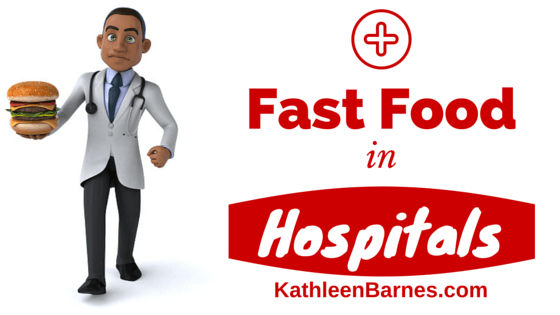 fast food in hospitals