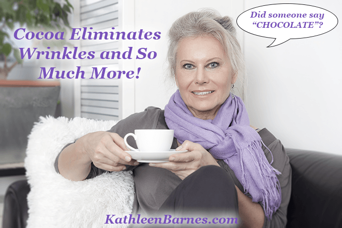 cocoa banishes wrinkles