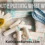 Toxic Feminine Hygiene Products and Some Alternatives