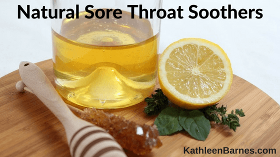 Natural Sore Throat Soothers