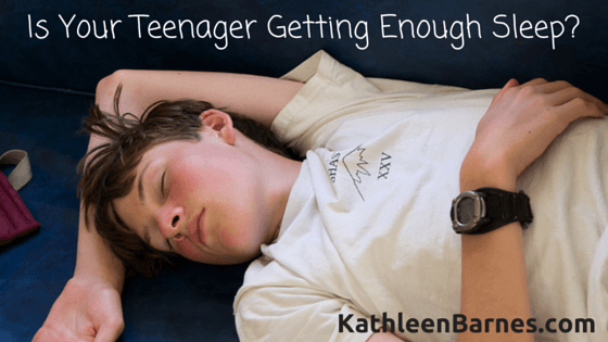 teens need more sleep