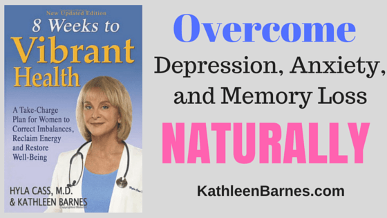 Balance Brain Chemistry: Overcome Depression, Anxiety, Memory Loss