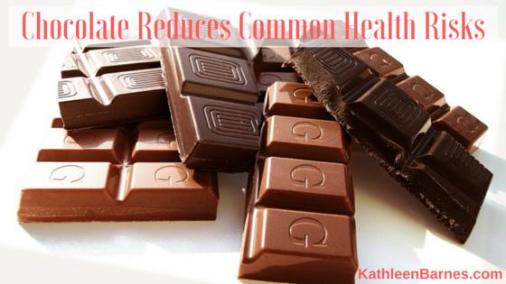 chocolate reduces risks