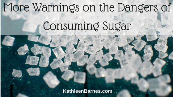 Another warning about the dangers of sugar