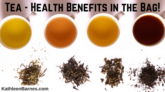 Tea – Massive Health Benefits in the Bag!
