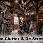 Reduce clutter for stress relief