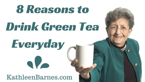 drink green tea everyday