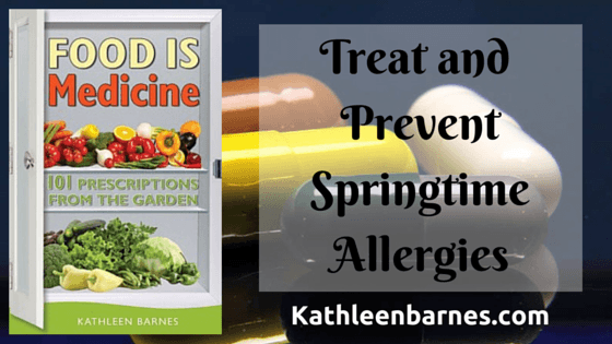 prevent springtime allergies