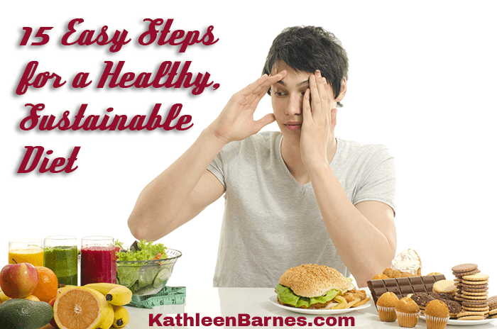easy steps for a healthy sustainable diet