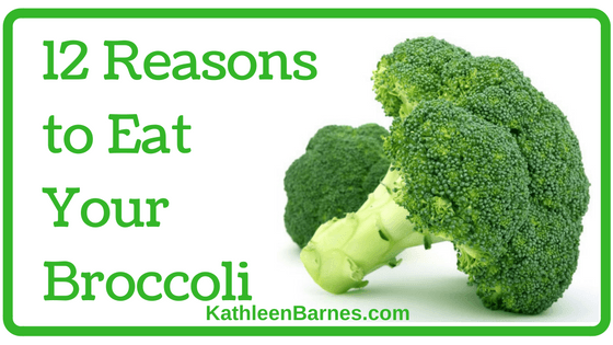12 Reasons to Eat Your Broccoli