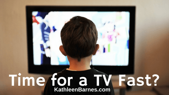Would a television fast improve your health?